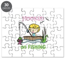 Hooked Fishing Puzzle