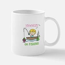 Hooked Fishing Mugs