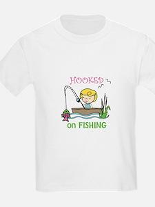 Hooked Fishing T-Shirt
