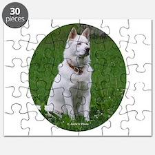 White Dog Puzzle