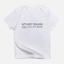 Retired Teacher EVERY Child Left Behind Infant T-S