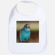 Unique Blue parakeet Bib