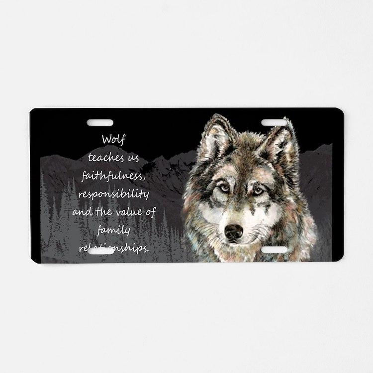 Wolf Totem Animal Spirit Guide for Inspiration Alu