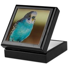 Yellow budgie Keepsake Box