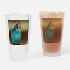 Unique Parrot picture Drinking Glass