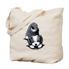 Havanese Bow Tote Bag