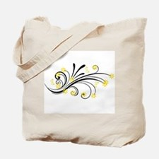 Unique Yellow Tote Bag