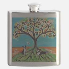 Tree life Flask