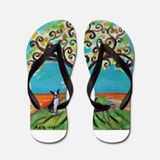 Cute Boston Flip Flops