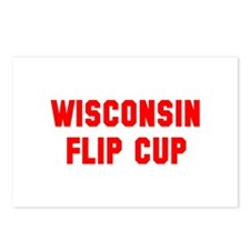 Wisconsin Flip Cup Postcards (Package of 8)