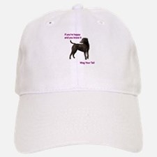 Curly-Coated Retriever if your happy and you k Baseball Baseball Cap