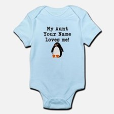 My Aunt Loves Me Penguin (Custom) Body Suit