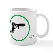 Yes Guns Sticker Mugs