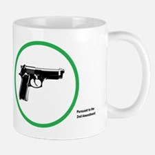 Yes Guns Sticker Mugs