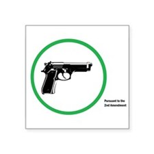 Yes Guns Sticker Sticker