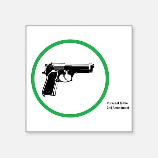 Yes Guns Sticker Sticker