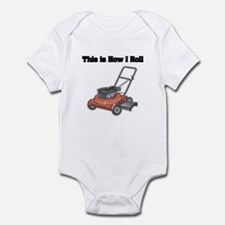 How I Roll (Lawn Mower) Infant Bodysuit