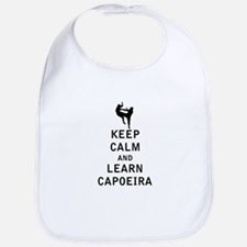 Keep Calm and Learn Capoeira Bib