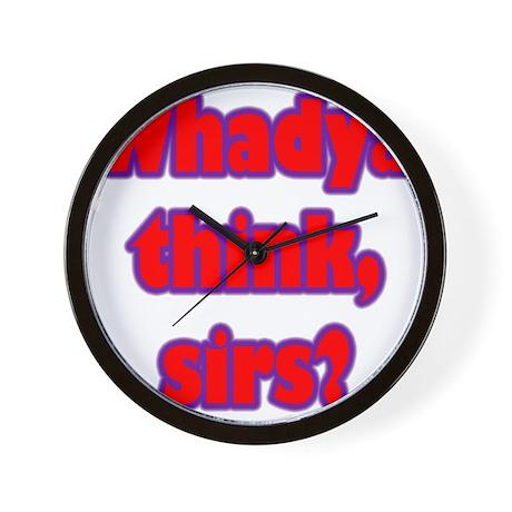 Whadya think? Wall Clock