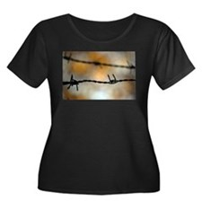 Barbed Wire Plus Size T-Shirt
