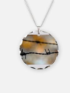 Unique Barbed wire Necklace