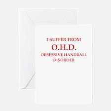 handball Greeting Cards