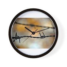 Unique Barbed wire Wall Clock