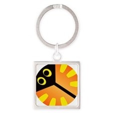 Ray Square Keychain