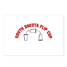 South Dakota Flip Cup Postcards (Package of 8)