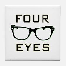 Four Eyes Tile Coaster