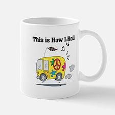 How I Roll (Hippie Bus/Van) Mug