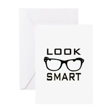 Look Smart Greeting Cards