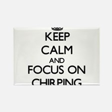 Keep Calm and focus on Chirping Magnets