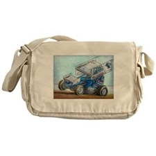 Cute Sprint car Messenger Bag