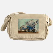 Cute Sprint car Messenger Bag