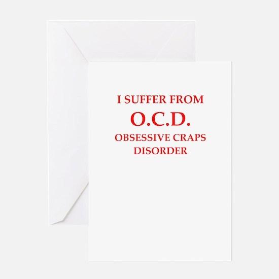 craps Greeting Cards