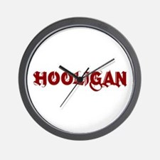HOOLIGAN2 Wall Clock