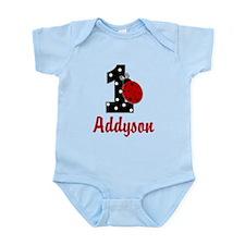 1 Ladybug ADDYSON Body Suit