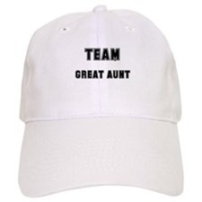 TEAM GREAT AUNT Baseball Cap