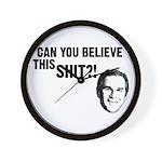 Can You Believe Bush? Wall Clock