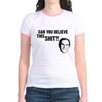 Can You Believe Bush? Jr. Ringer T-Shirt