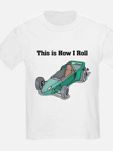 How I Roll (Go Kart/Cart) T-Shirt