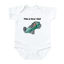 How I Roll (Go Kart/Cart) Infant Bodysuit