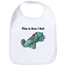 How I Roll (Go Kart/Cart) Bib