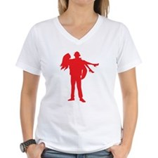 Fireman's Wife-RED T-Shirt