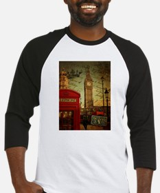 vintage London UK fashion Baseball Jersey