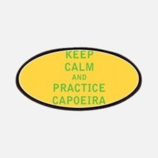 Keep Calm and Practice Capoeira Patches