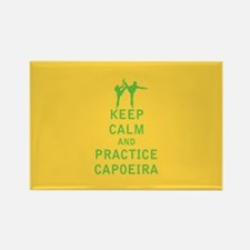 Keep Calm and Practice Capoeira Magnets
