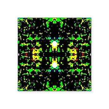 """Brain age Square Sticker 3"""" x 3"""""""