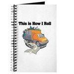 How I Roll (Garbage Truck) Journal